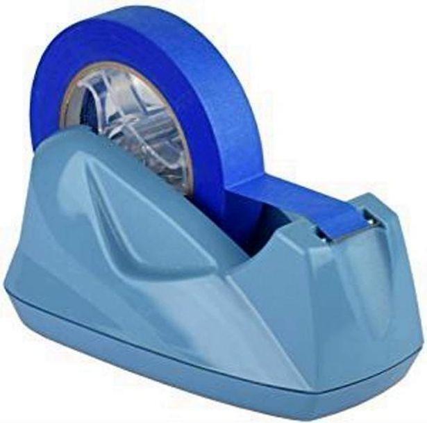 Oferta de Suporte Acrimet 271.AO  para fita adesiva grande cor azul solido por R$25,6