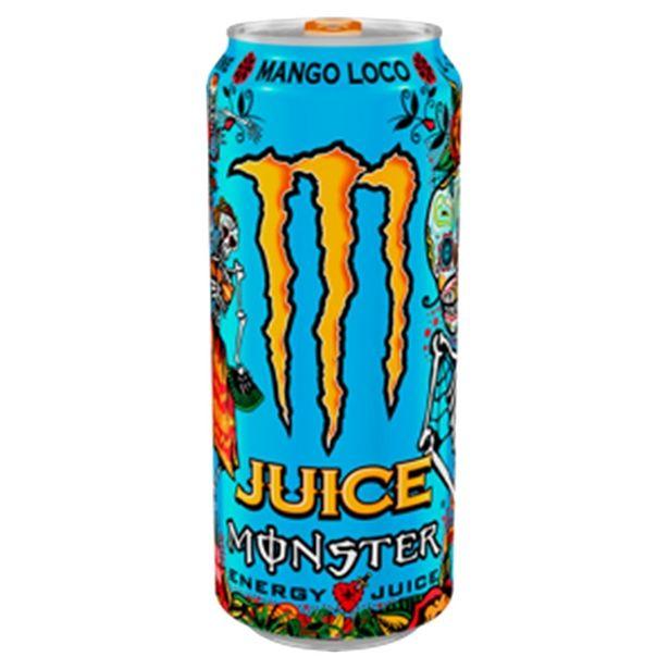 Oferta de Energético Monster Mango Loco LATA 473ML por R$7,49