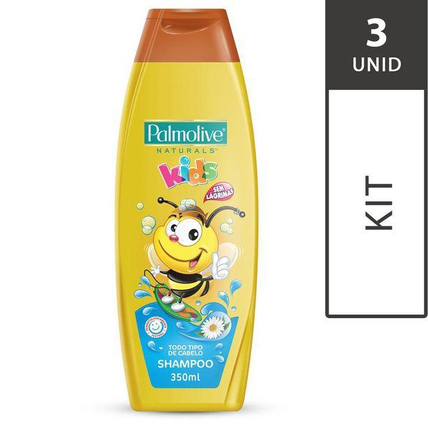 Oferta de Kit Shampoo PALMOLIVE Naturals Kids 350ml cada por R$38,37