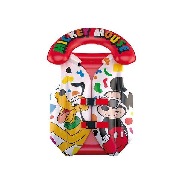 Oferta de COLETE INFLAVEL INFANTIL MICKEY DISNEY DYIN-039 ETITOYS por R$40,9