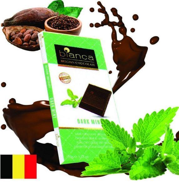 Oferta de Chocolate Amargo Dark 53% com Menta Bianca Importado por R$16,9
