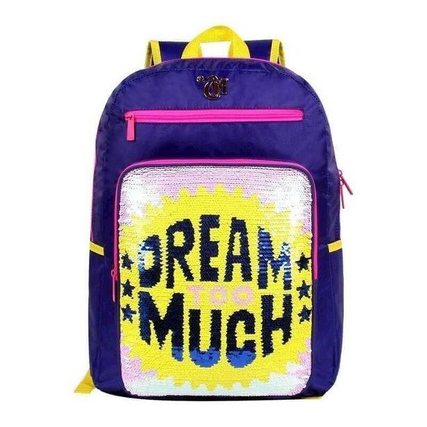 Oferta de Mochila De Costas Capricho Dream Too Much G 11320 Dmw por R$139,9