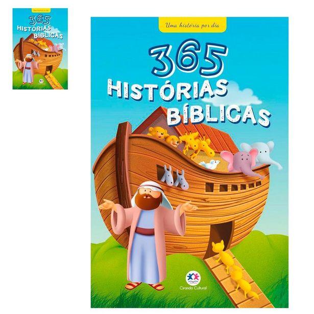 Oferta de 365 Historias Biblicas Para Crianças Livro Infantil Hora de dormir por R$29,9