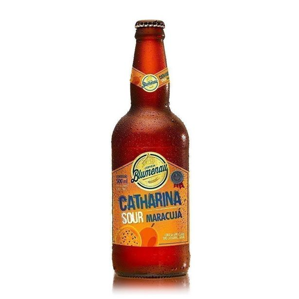 Oferta de Cerveja Blumenau Catharina Sour Maracujá 500ml por R$19