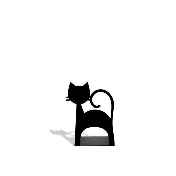Oferta de Aparador de Livros Gato Preto por R$41,9