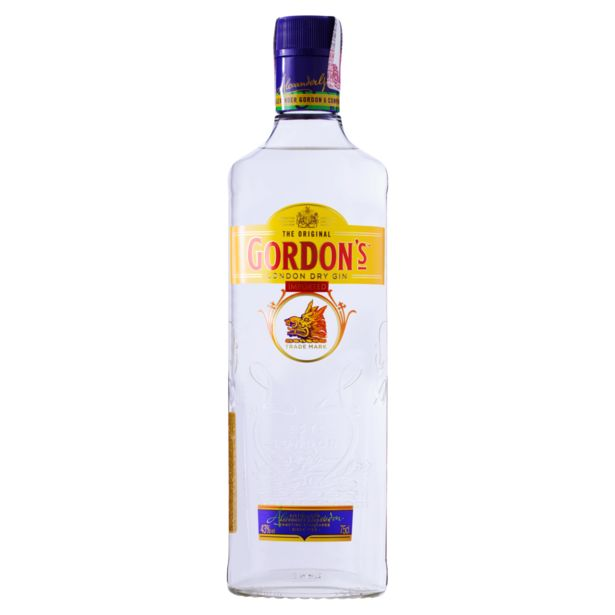 Oferta de Gin Gordon's London Dry - 750ml por R$74,9