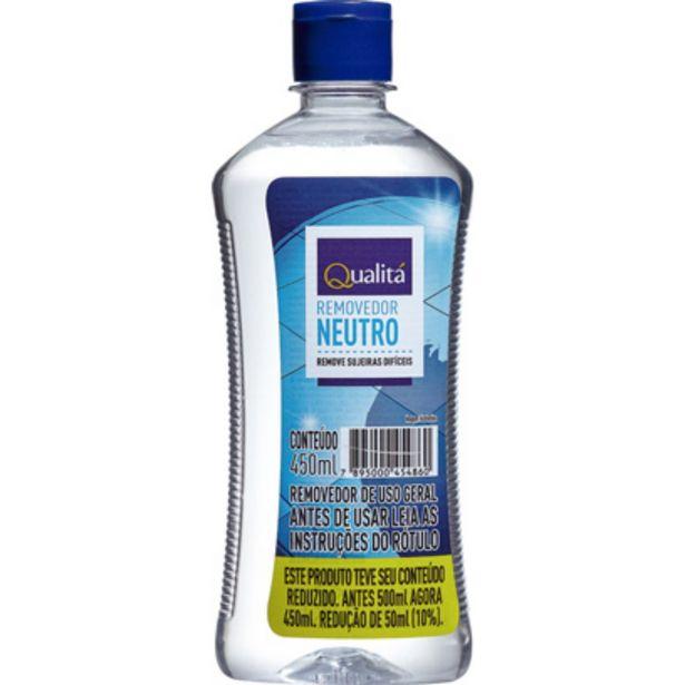 Oferta de Removedor Neutro Qualitá 450ml por R$11,99