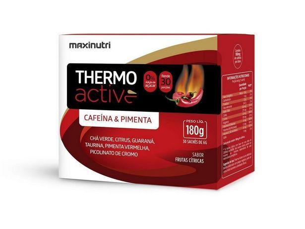 Oferta de Thermo Active 30 sachês - MaxiNutri - Frutas cítricas por R$62,9