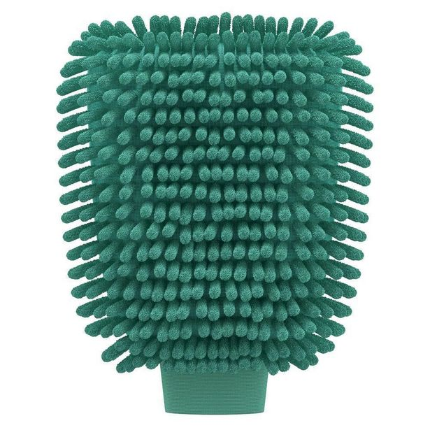 Oferta de Luva de Microfibra Multiuso FlashLimp Verde por R$24,26