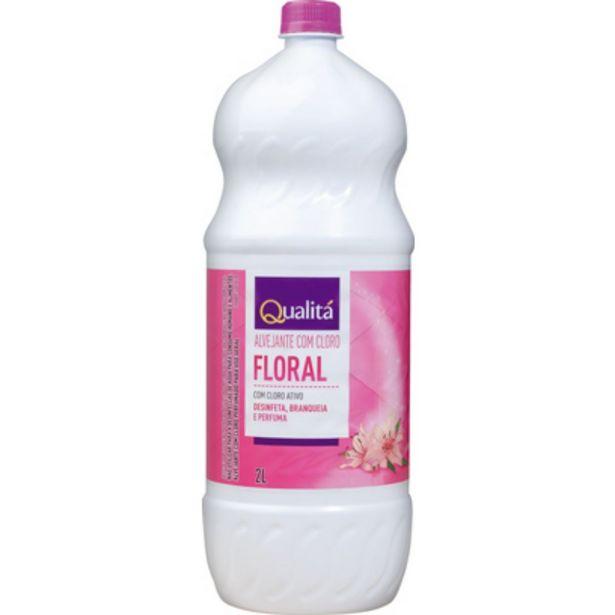 Oferta de Alvejante com Cloro Perfumado QUALITÁ 2 Litros por R$6,59