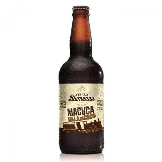 Oferta de Cerveja Artesanal Blumenau Macuca Bala de Coco 500ml SC Brasil por R$26,9