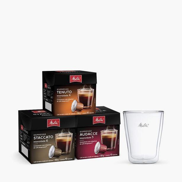 Oferta de Kit Espressos Suaves Com Copos De 200Ml por R$220,87