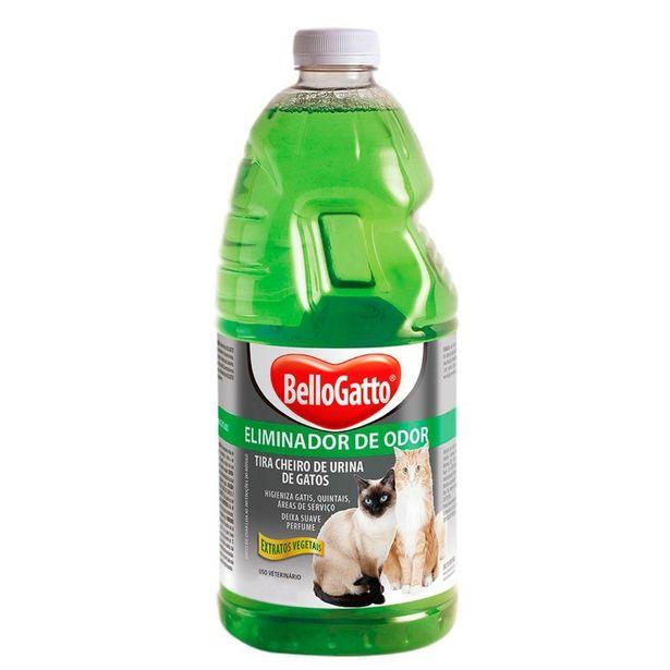 Oferta de Eliminador de Odores Extratos Vegetais Bellogatto 2L por R$22,9