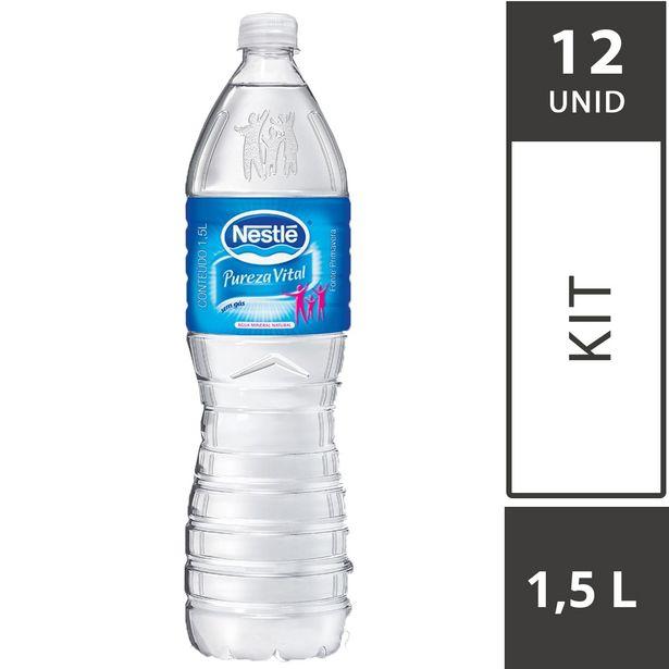 Oferta de Água Mineral sem Gás NESTLÉ Pureza Vital Garrafa 1,5 Litros - com 12 Unidades por R$22,68