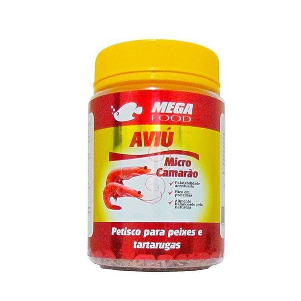 Oferta de Petisco Aviú para Peixes e Tartarugas Mega Food 60g por R$34,9