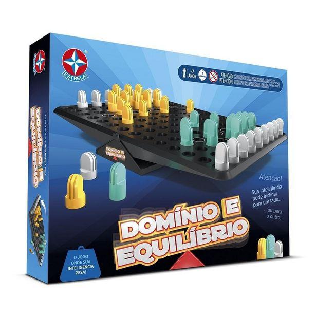 Oferta de Jogo - Domínio E Equilíbrio - Número de Jogadores 2  - Estrela por R$65,99