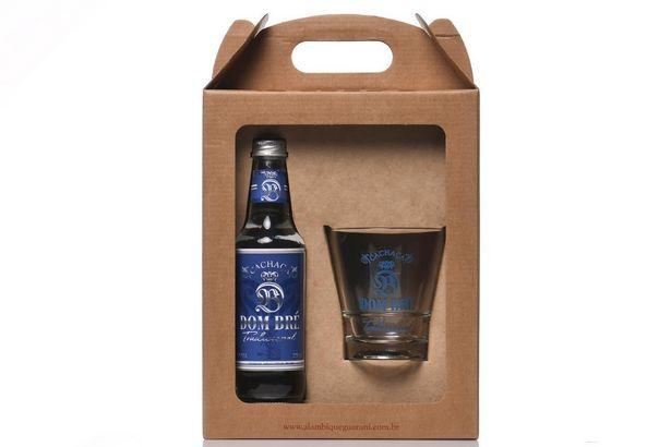 Oferta de Kit Dom Bré Tradicional 270 ml + Copo Drink por R$48