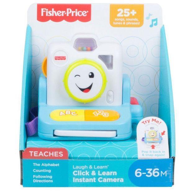 Oferta de Câmera de Atividades - Sorrisos e Aprendizagem - Fisher-Price por R$130,99