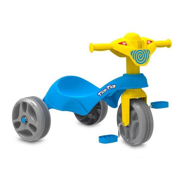 Oferta de Triciclo Tico-Tico Club Azul - Bandeirante por R$129,99