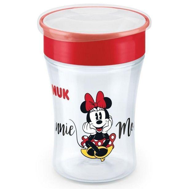Oferta de Copo Antivazamento 360º  Disney Magic Cup 230ml Girl - Nuk por R$71,25