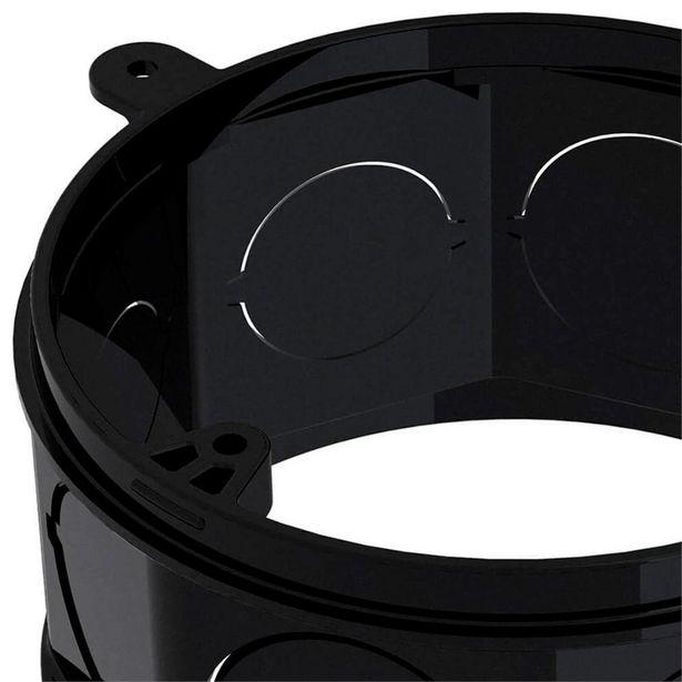 Oferta de Prolongador em Pvc para Caixa de Luz Octogonal 4x4´´ Preto por R$8,99