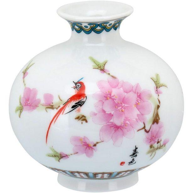 Oferta de Vaso Color Cerâmica Flora 9X9X9Cm por R$97,9