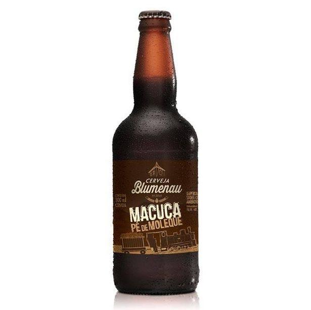 Oferta de Cerveja Artesanal Blumenau Macuca Pe de Moleque 500ml Sc Brasil por R$26,9
