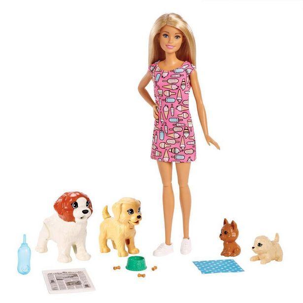Oferta de Boneca Barbie - Treinadora de Cachorrinhos - Mattel por R$150,99