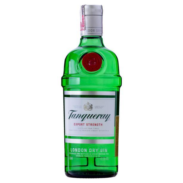Oferta de Gin Tanqueray London Dry - 750ml por R$109,9