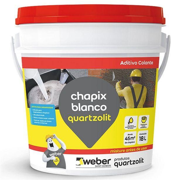 Oferta de Aditivo Chapix Branco 18 Litros por R$184,99