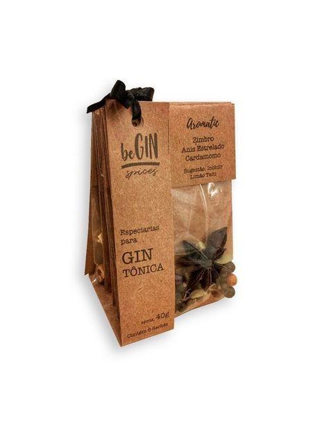 Oferta de 1 Kit De Especiarias Para Gin Tônica (6 Sachês) - beGIN Spices por R$23,9