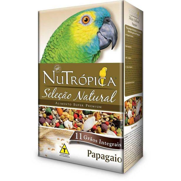 Oferta de Ração Nutrópica Papagaio Seleção Natural 900g por R$73,9