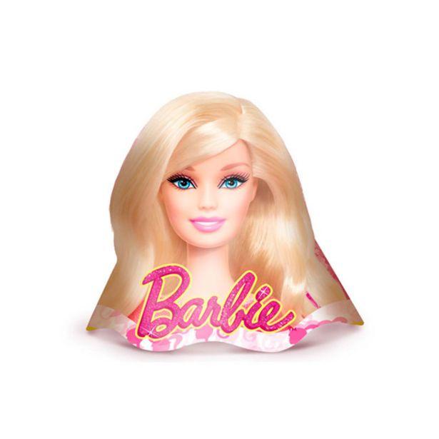 Oferta de Chapéu Para Aniversário REGINA Barbie Core 8 Unidades por R$20,75