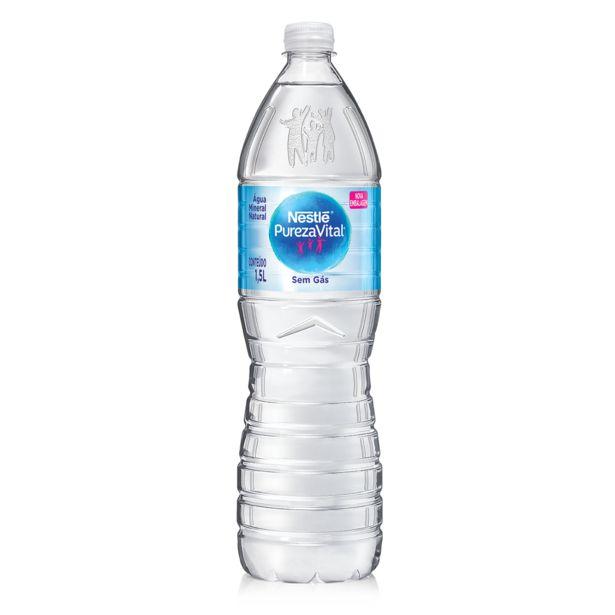 Oferta de Água Mineral sem Gás NESTLÉ Pureza Vital Garrafa 1,5 Litros por R$1,89
