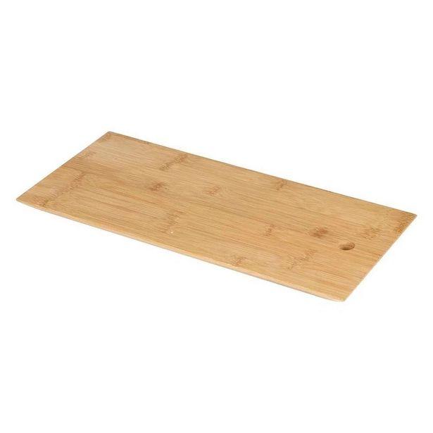 Oferta de Tabua de Bambu  40 x 18 x 2cm bandeja, corte e pestisqueira por R$42,9