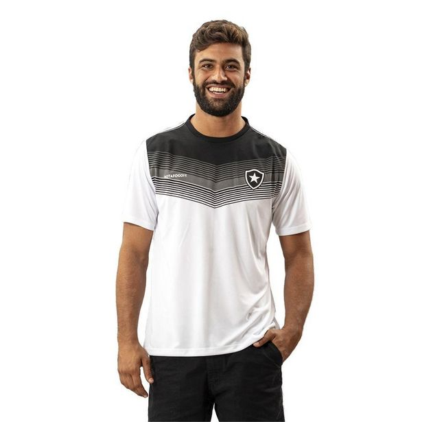 Oferta de Camisa Botafogo Forest Masculina Branco - Branco - P por R$63