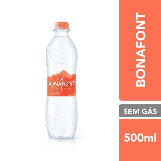 Oferta de Bonafont Água Mineral Sem Gás 500ML por R$1,69