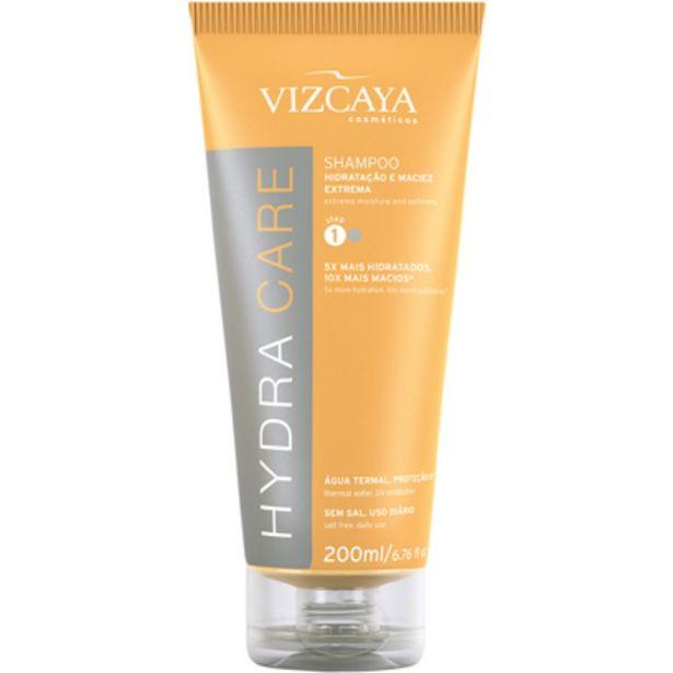 Oferta de Shampoo Vizcaya Hydra Care 200ml  por R$20,39
