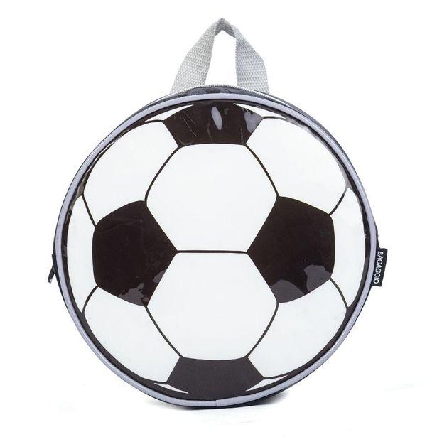 Oferta de Lancheira Futebol Preto U por R$79,9