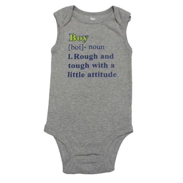 Oferta de Body Regata - Cinza - Boy - Koala Baby - Babies´R´Us - 0-3M por R$29,99