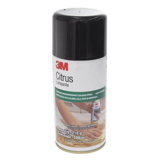 Oferta de Removedor Adesivo e Sujeira Limpante 3m Spray Citrus por R$73,99