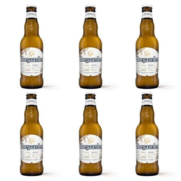 Oferta de PACK 6 Cerveja Importada Hoegaarden 330 ml - melhor do Mundo por R$96,21