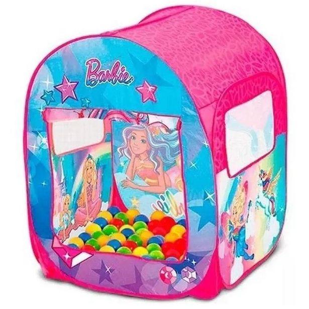 Oferta de Barraca Infantil - Barbie - Mundo dos Sonhos - Fun por R$199,9