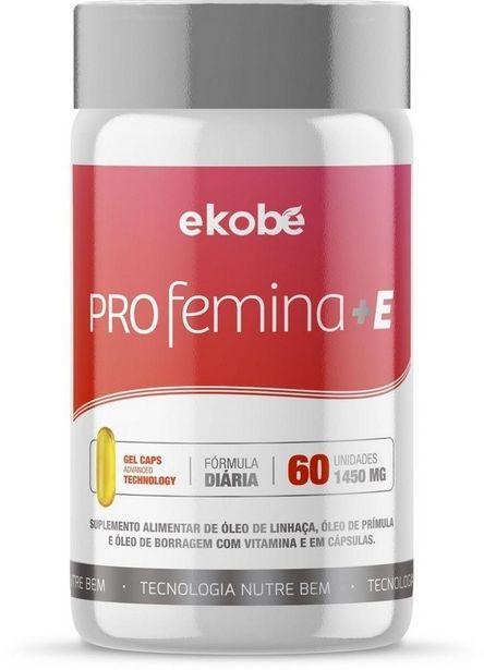 Oferta de Profemina+E (60 cápsulas) - Ekobé por R$48,9