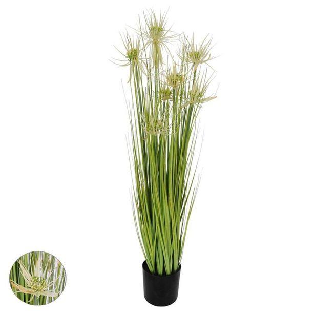 Oferta de Planta Artificial Grass com Pote 90cm por R$419,99