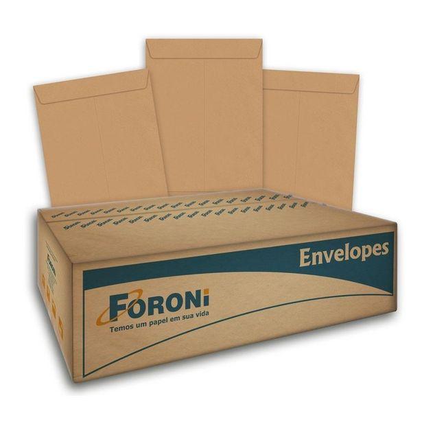 Oferta de Envelope Saco Kraft Natural 80g 250x353mm CX 100 UN Foroni por R$62