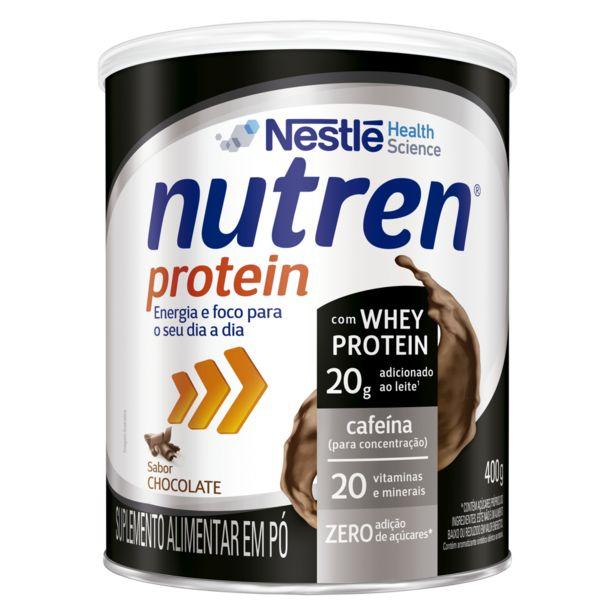 Oferta de Nutren Protein Chocolate 400g por R$69,99