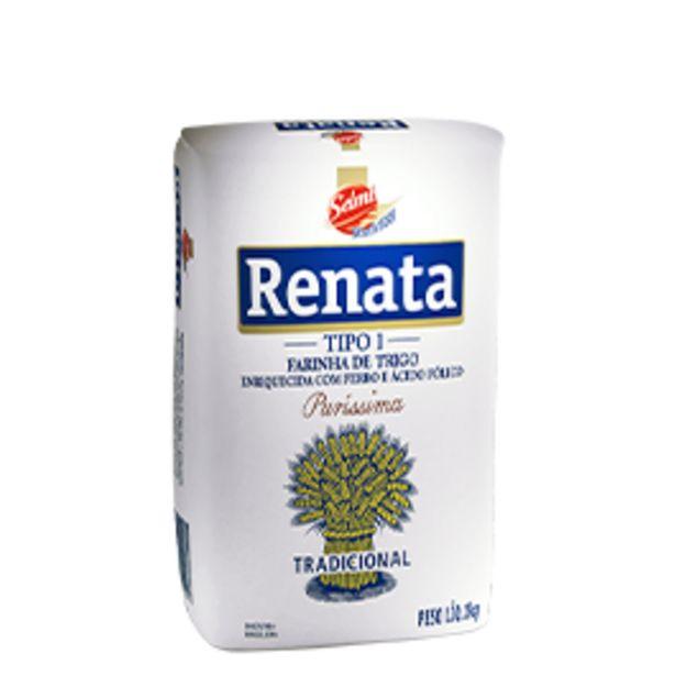 Oferta de Farinha de Trigo Renata 1 kg por R$4,45