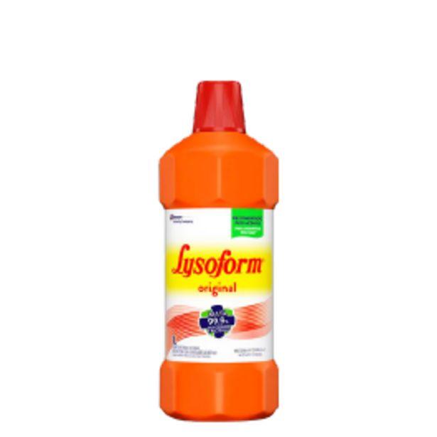 Oferta de Desinfetante Lysoform Original 1L por R$6,99