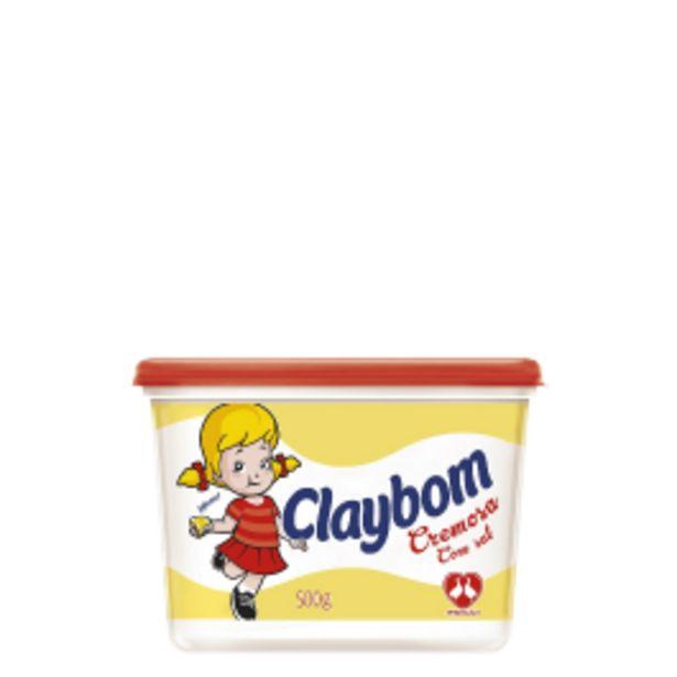 Oferta de Margarina Claybom 500g por R$3,68